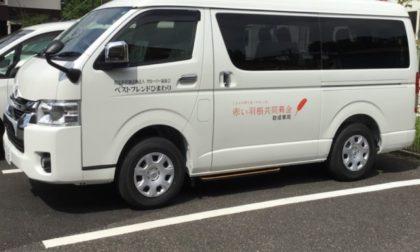 新しい送迎車両が来ました(⋈◍>◡<◍)。✧♡